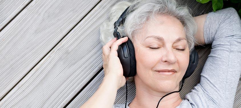 Entspannter Hörtest